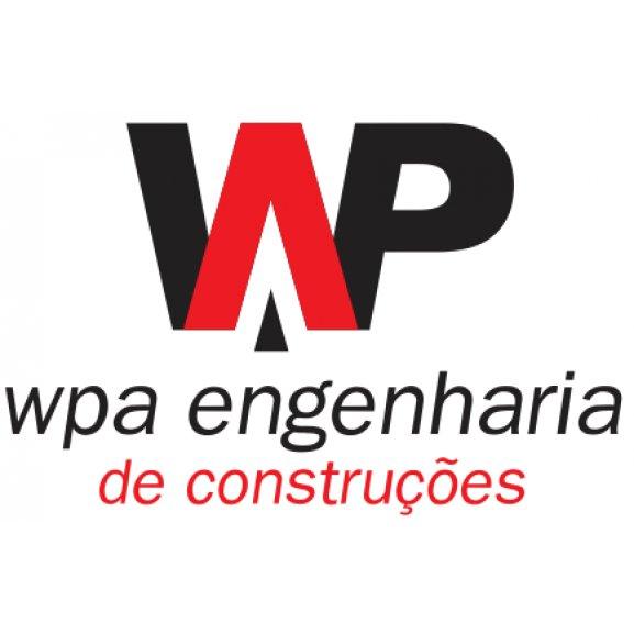 Wpa Engenharia De Construcoes Logo Vector