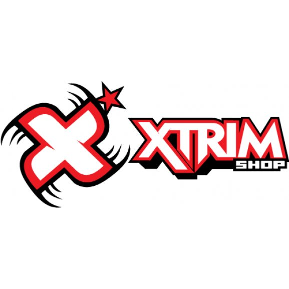 Xtrim Shop Logo Vector