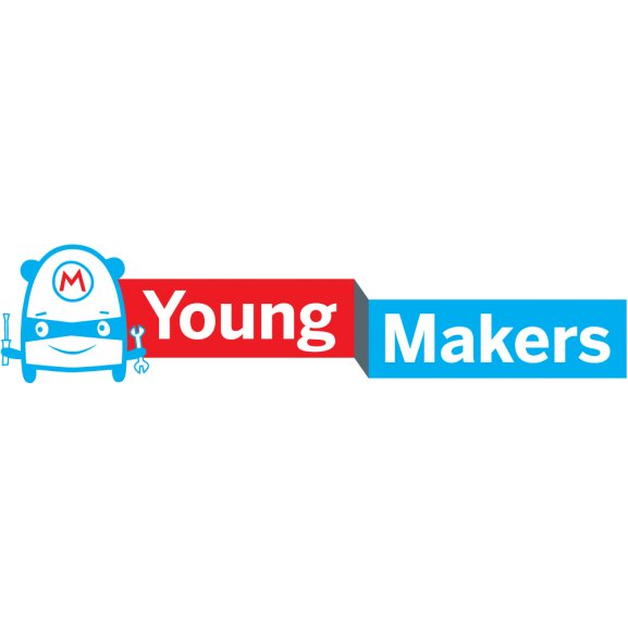 Young Makers Logo Vector