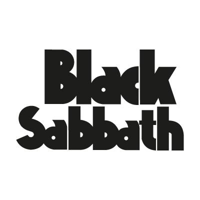 Black Sabbath 1986 Logo Vector