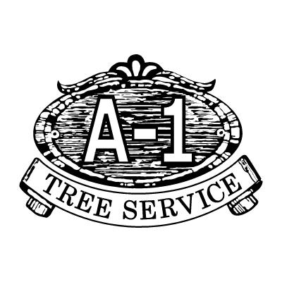 A1 Tree Service Logo Vector