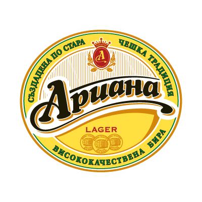 Ariana Beer Logo Vector