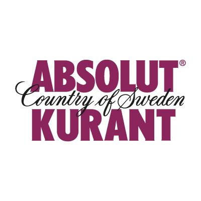 Absolut Kurant Logo Vector