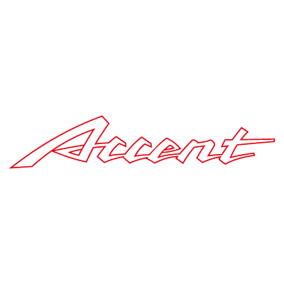 Accent Auto Logo Vector