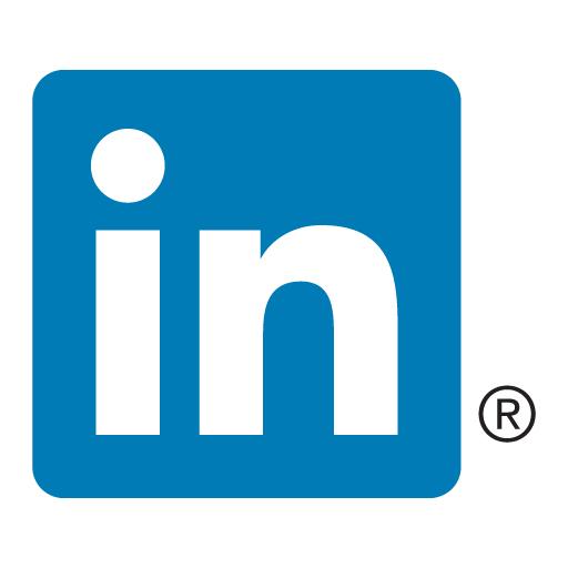 Linkedin [in] Icon Logo Vector