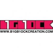 B1gb1ock Creation Logo Vector Download