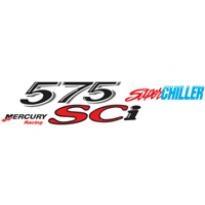 Mercury Mercruiser 575 Sci Super Chiller Logo Vector Download