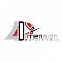 4th Dimension Advertisers Logo Vector Download