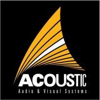 Acoustic Audio Logo Vector Download