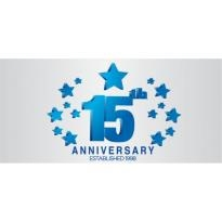 Capital Newspaper 15th Anniversary Logo Vector Download