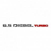 65 Turbo Diesel Logo Vector Download