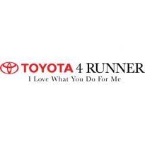 Toyota 4runner Logo Vector Download