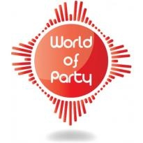 World Of Party Logo Vector Download