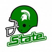 Michigan State Spartans Helmet Logo Vector Download