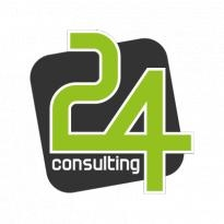 24 Consulting Logo Vector Download