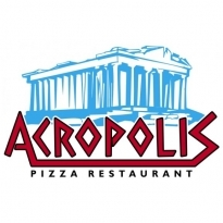 Acropolis Pizza Logo Vector Download