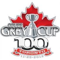 100th Grey Cup Festival Logo Vector Download