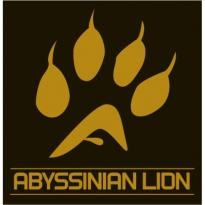 Abyssinian Lion Logo Vector Download