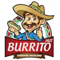 Burrito Hut Logo Vector Download