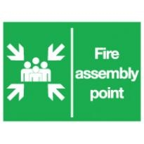 Fire Assembly Point Logo Vector Download