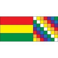 Bolivia Wiphala Logo Vector Download