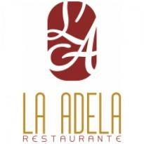 La Adela Restaurante Logo Vector Download