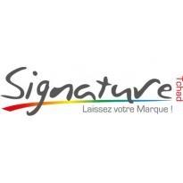 Signature Communication Tchad Logo Vector Download