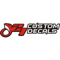827 Custom Decals Logo Vector Download