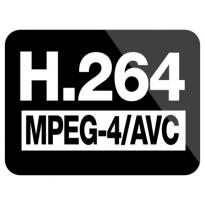 H264/mpeg-4 Avc Logo Vector Download