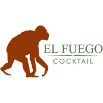 El Fuego Cocktail Logo Vector Download