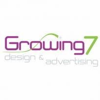 Growing Seven Logo Vector Download