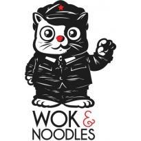 Wok & Noodles Logo Vector Download
