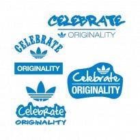 Adidas Celebrate Originality Logo Vector Download