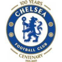 Chelsea Fc 100th Anniversary Logo Vector Download
