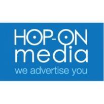 Hop-on Media Logo Vector Download