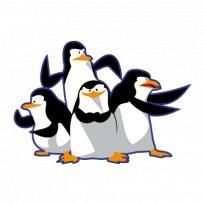 Madagascar Pinguinos Penguins Logo Vector Download