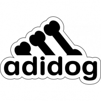 Adidog Logo Vector Download