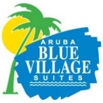 Blue Village Suites Logo Vector Download
