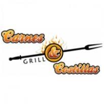 Carnes & Costillas Grill Logo Vector Download