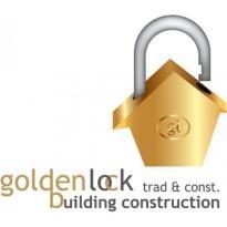 Golden Lock Logo Vector Download