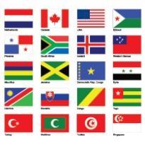 flags part 1 logo vector