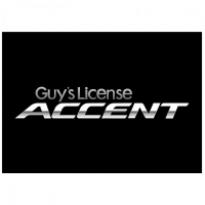 Guys License Accent Logo Vector Download
