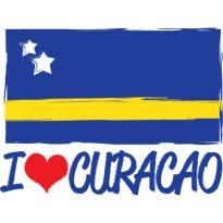 I Love Curacao Logo Vector Download