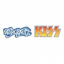 Aerosmith With Kiss Logo Vector Download