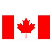 flag of canada logo vector