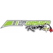 Lp Design Racing Logo Vector Download