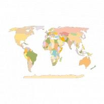 world map earth logo vector
