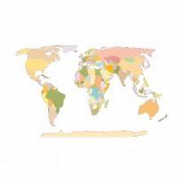 World Map Earth Logo Vector Download