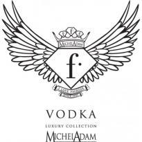 F Vodka Logo Vector Download