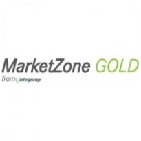Marketzone Gold Logo Vector Download